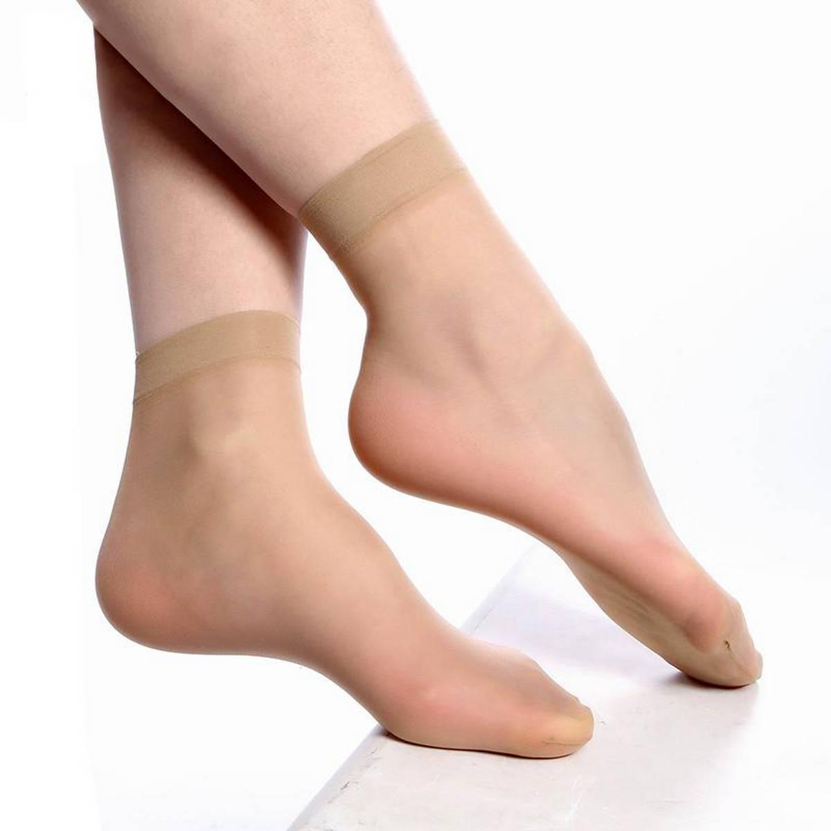 Skin Nylon Socks For Women