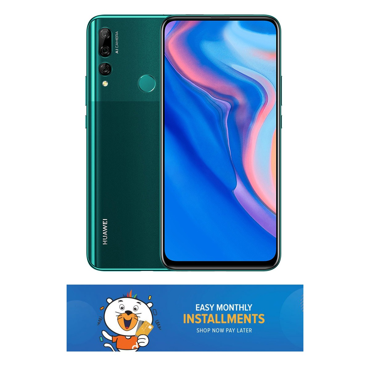 HUAWEI Y9 Prime(2019) - 6.59 UHD Display - 4GB RAM - 128GB ROM - Auto Pop-up Camera - Fingerprint Sensor