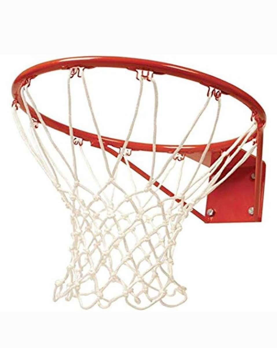 Basketball Ring With Net - Standard Size