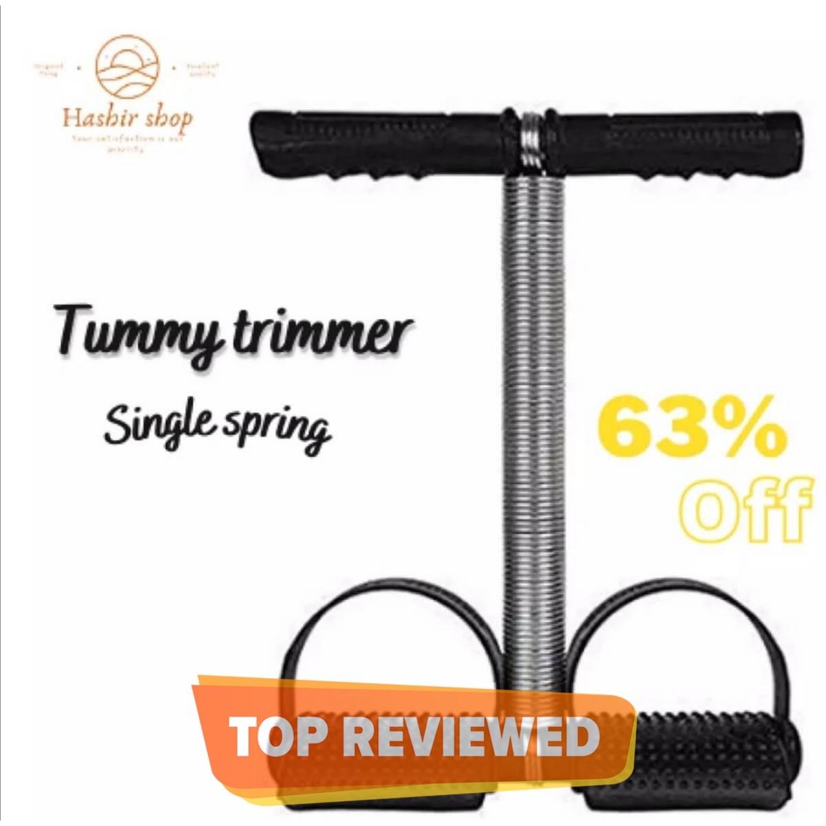 Tummy Trimmer Single Spring Weight Loss Machine For Home Gym