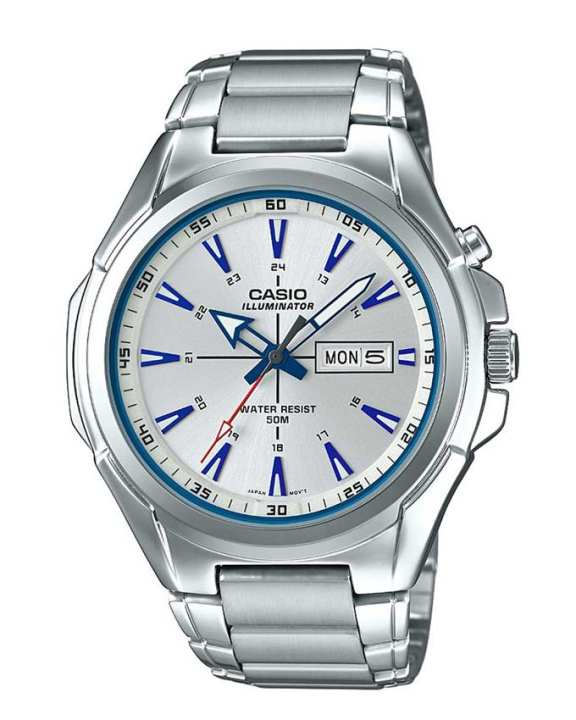 Casio - MTP-E200D-7A2VDF - Stainless Steel Watch for Men