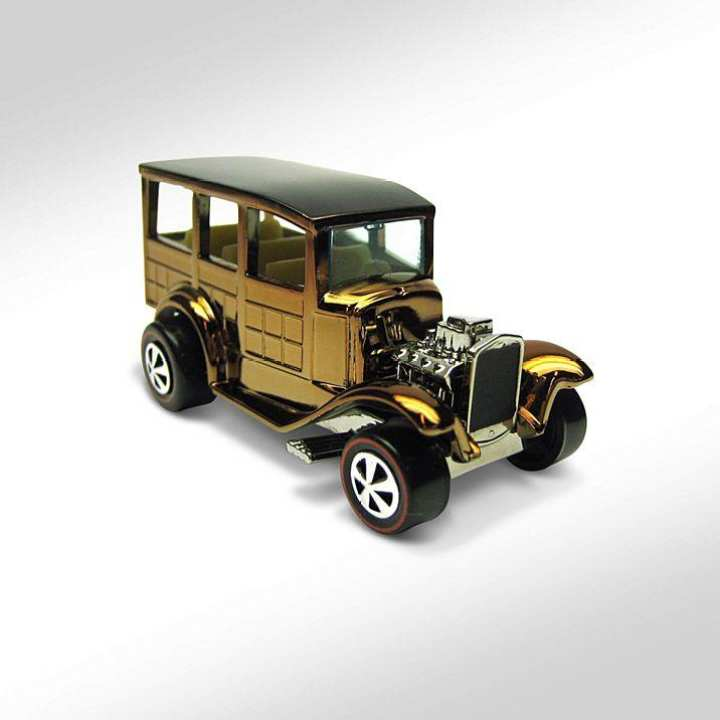 Hot Wheel Metal Racing Toy Car HWC Series Eleven Neo-Classics '31 Ford Woody
