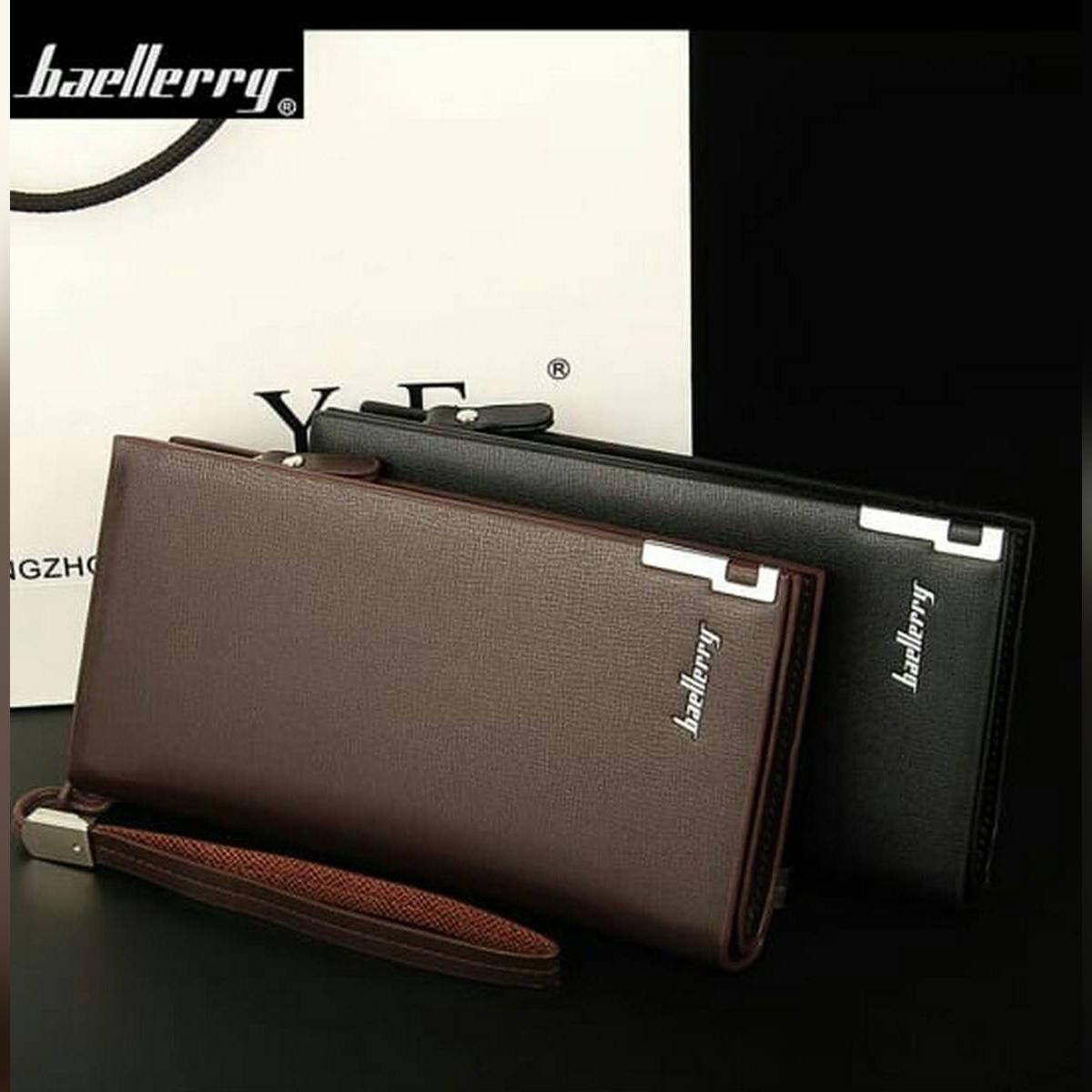 Baellerry Long Wallet /Clutch Bag / Purse/ Card Holder/Coin Bag long wallet for men .