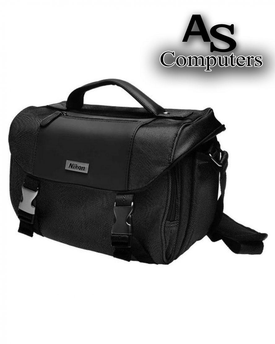 Nikon Deluxe Digital SLR DSLR Camera Gadget Accessories Bag - Grey