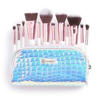 Crystal Quartz 12 pcs brush set