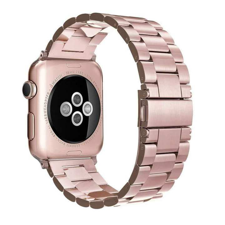 Simpeak Stainless Steel Band Strap Compatible Apple Watch 38mm
