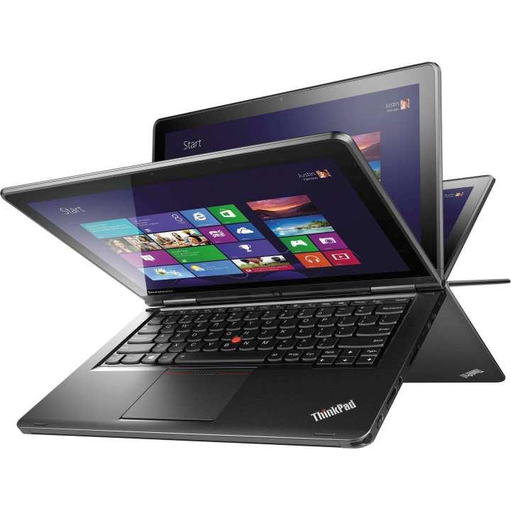 "Lenovo ThinkPad S1 Yoga with Free Laptop Bag 12.5"" FHD (1920x1080) IPS Touchscreen 2-in-1 Ultrabook Laptop - Intel Core i5-4200U  8GB RAM  500GB HDD  Backlit  BT  Fingerprint Reader  Windows 8.1 Pro 64bit -"