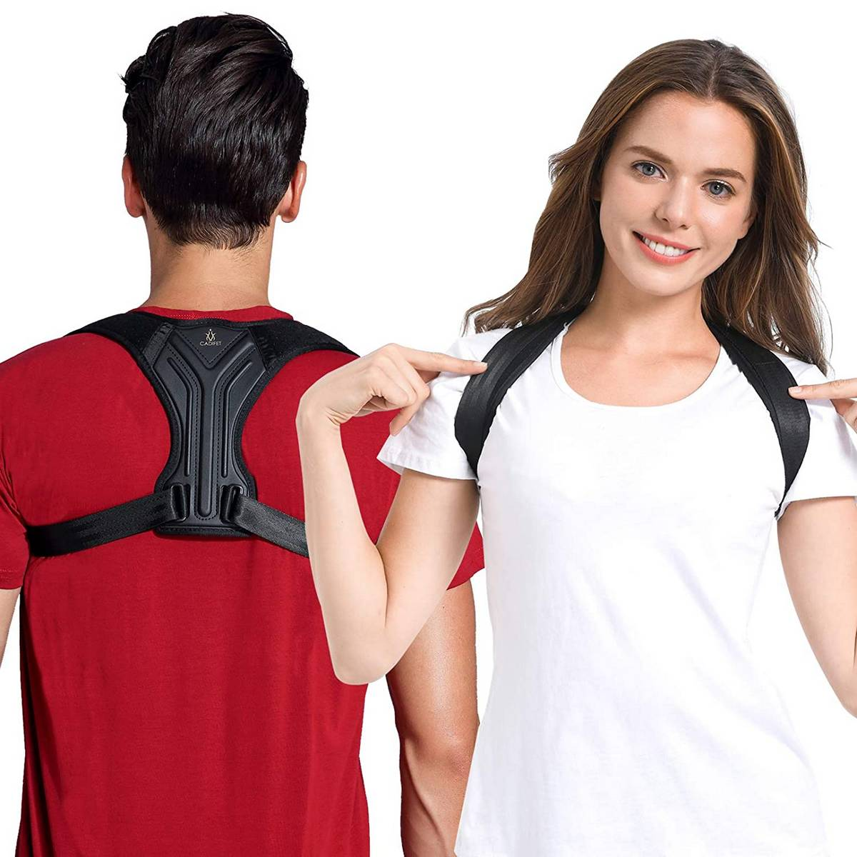 Posture Corrector for Women and Men - Superior Posture Correction for Clavicle Support and Comfortable Posture Training - Providng Neck, Back and Shoulder Straight