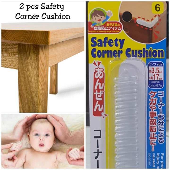 2 Piece Baby Safety Corner Cushion