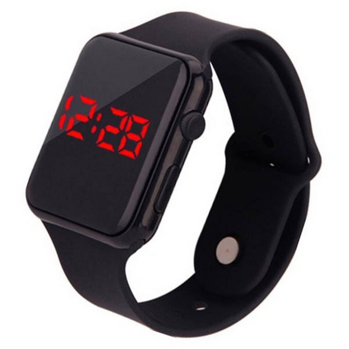 High quality Latest Design Stylish Sports watch Imported  Waterproof LED Digital Touch Screen Day Date Silicone Strap for Boys And Girl