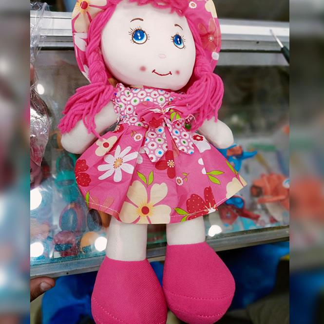 Stuffed Doll Washable Premium Quality