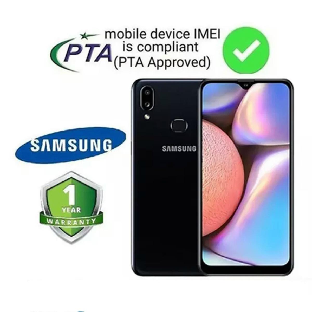 Samsung Galaxy A10s - 6.2 Display - Main Camera 13+2 Mp - Front Camera 8mp - Ram 2gb - Rom 32gb - 4000 Mah Battery
