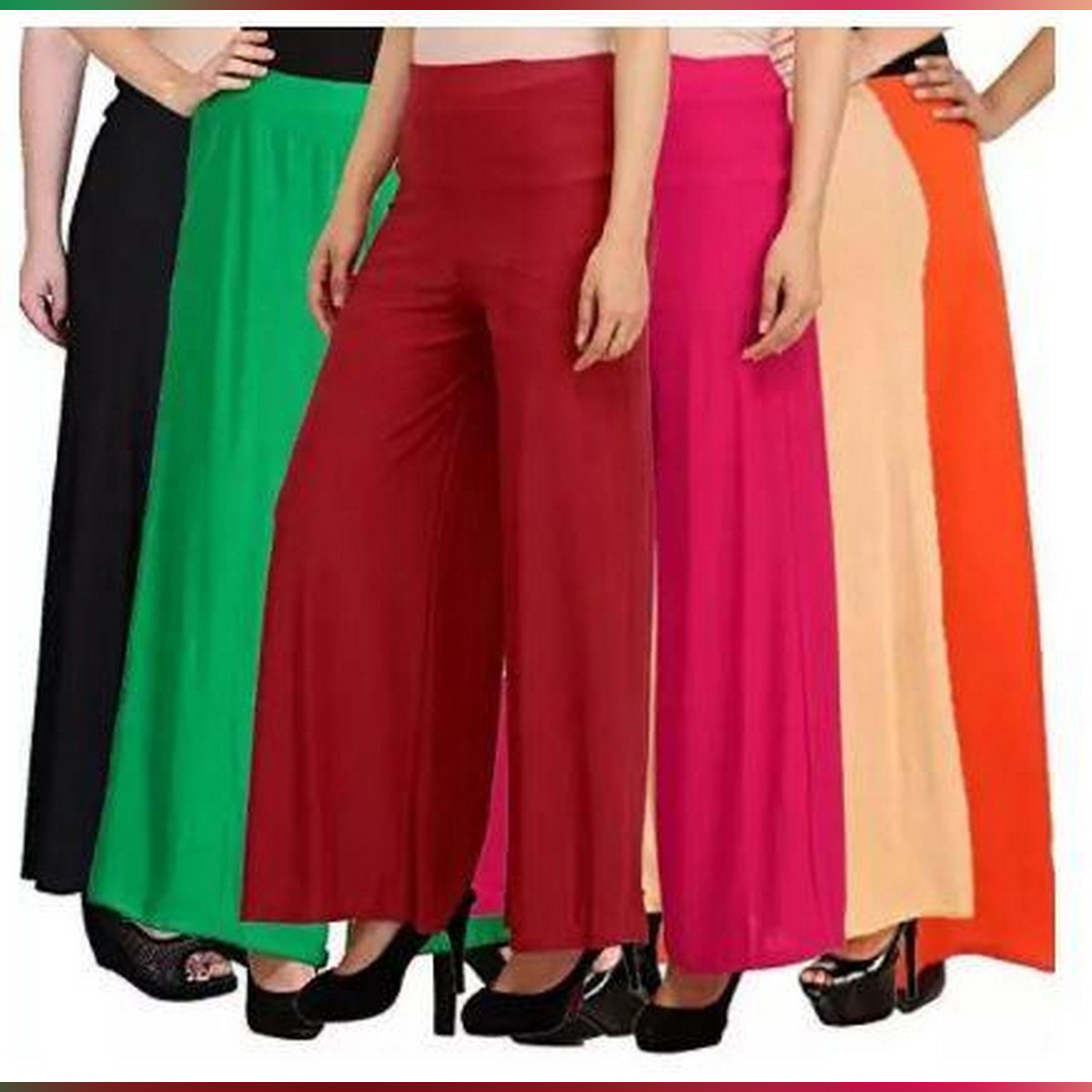 Pack of 5 Plazo Pants