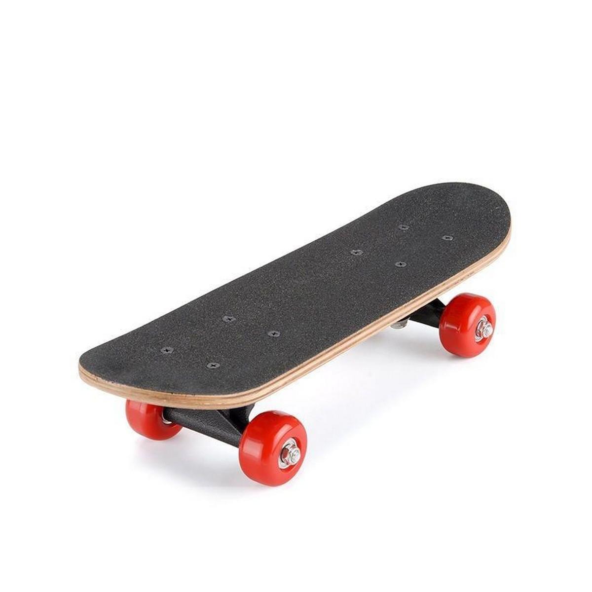 Skate Board - Small - Black & Red