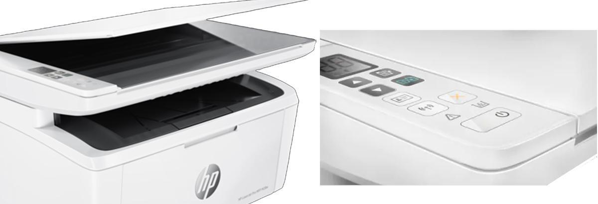 HP LaserJet Pro MFP M28w - 3 in 1 Multifunction Printer