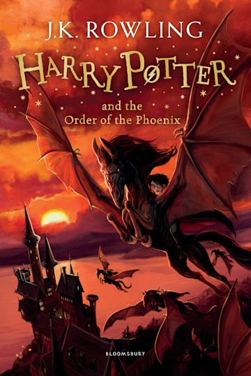 Harry Potter and the Order of the Phoenix Novel by J. K. Rowling