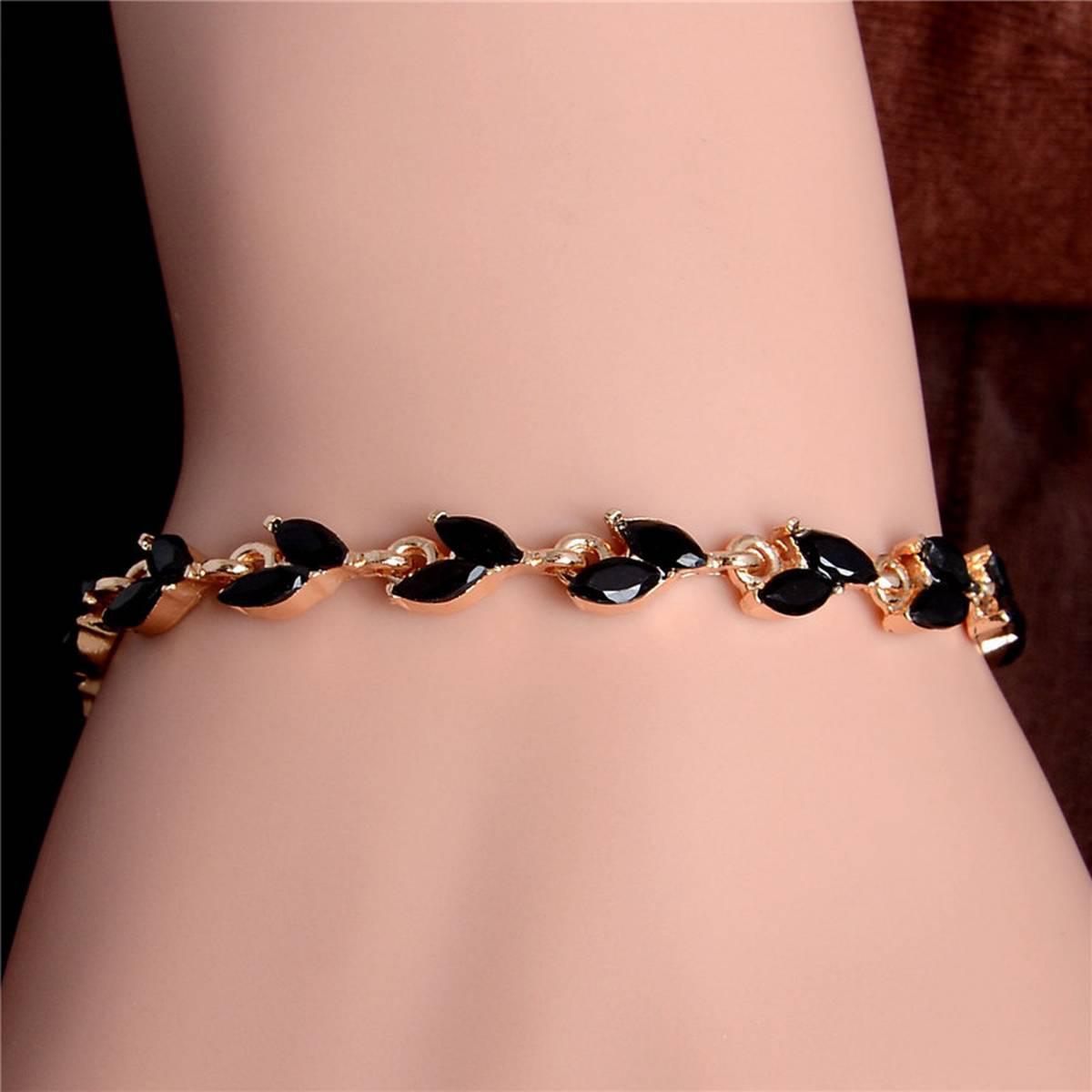 girls Bracelets ladies Bracelets women Bracelets love Bracelets casual fashion Fine jewelry Bracelets friendship Bracelets Romantic Love Gift Bracelets Leave Shape Bracelets