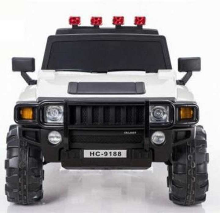 2 Seat Original Hummer Kids Jeep with remote and Self drive (Available in White & Red ) Model No. HC-9188