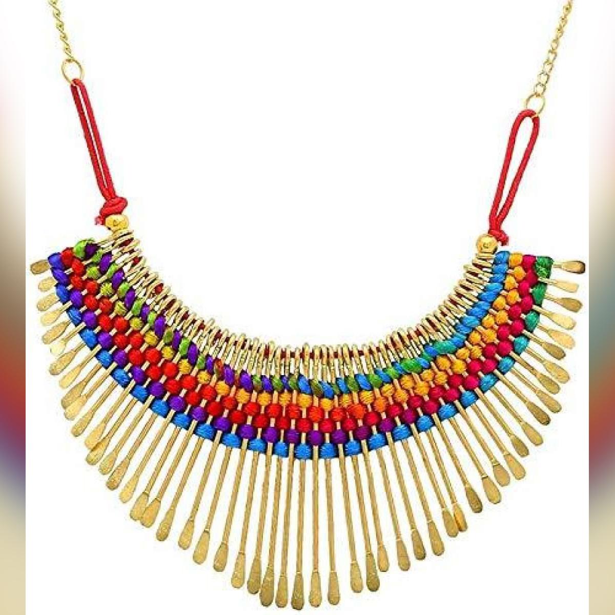Elegant Heavy Trendy choker Necklace For Girls and Women
