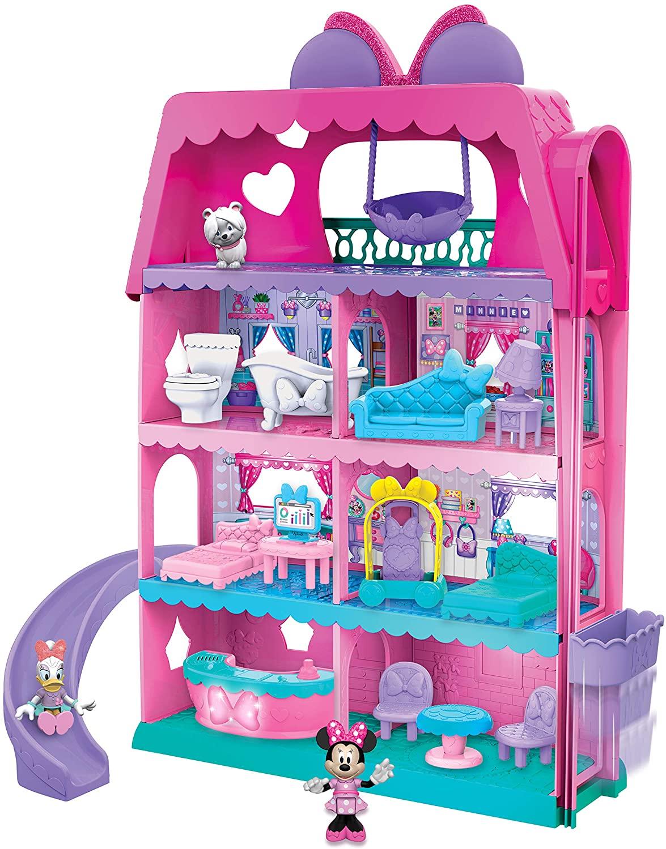New Mini Cockloft DIY Doll House Miniatures Furniture Kit