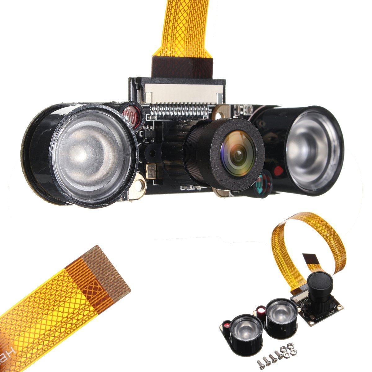5MP Infrared IR Night Vision CMOS Camera Module For Raspberry pi zero W