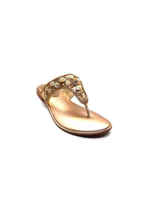Fawn Golden Slipper For Women 2132/006