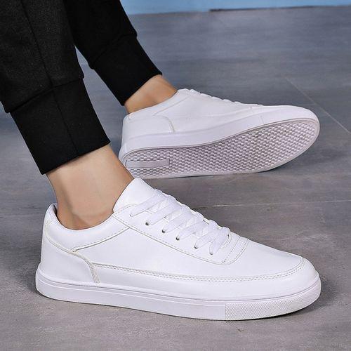 New men's business shoes men's leather skateboard men's shoes fashion lace shoes