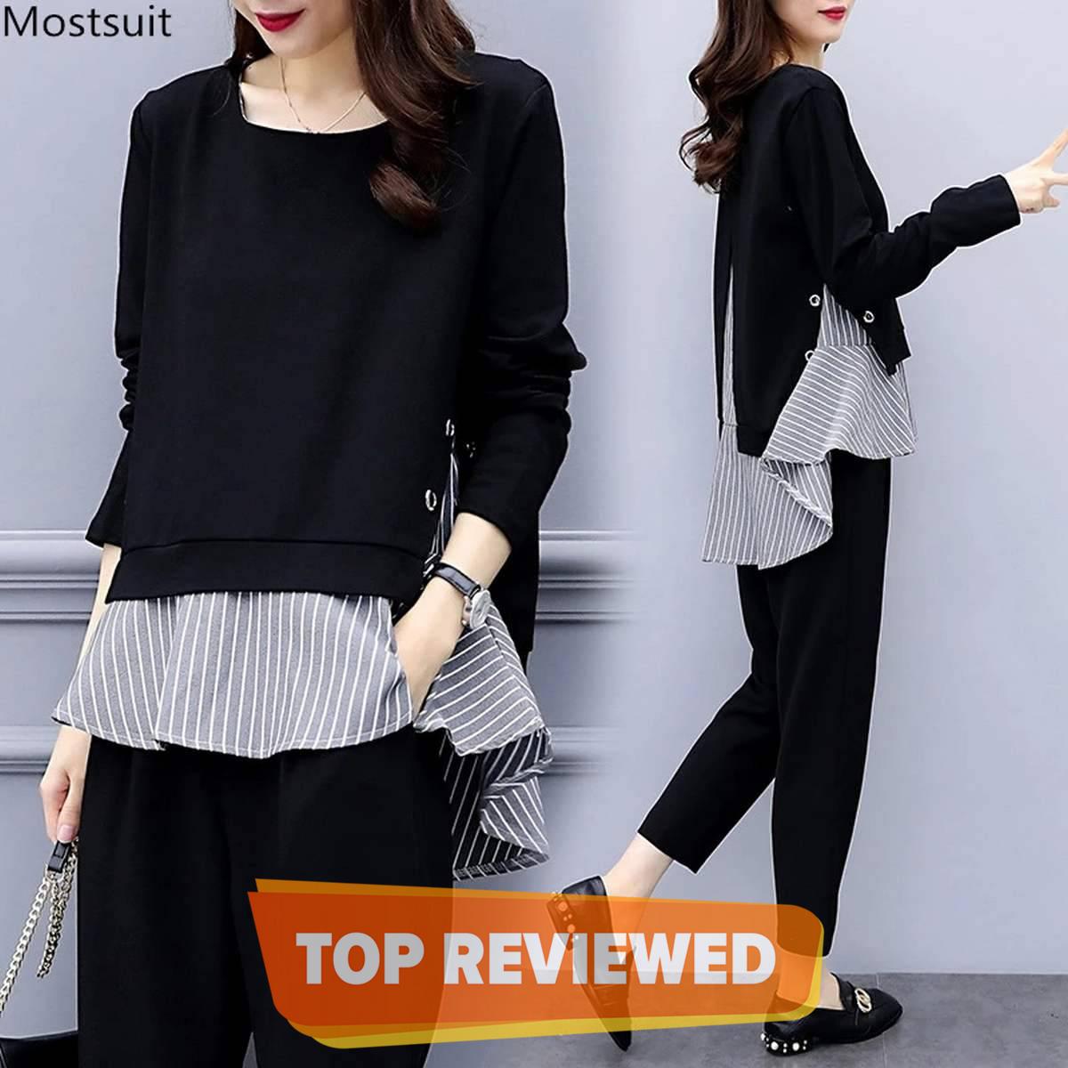 Fashionable Western Stripe Top For Women