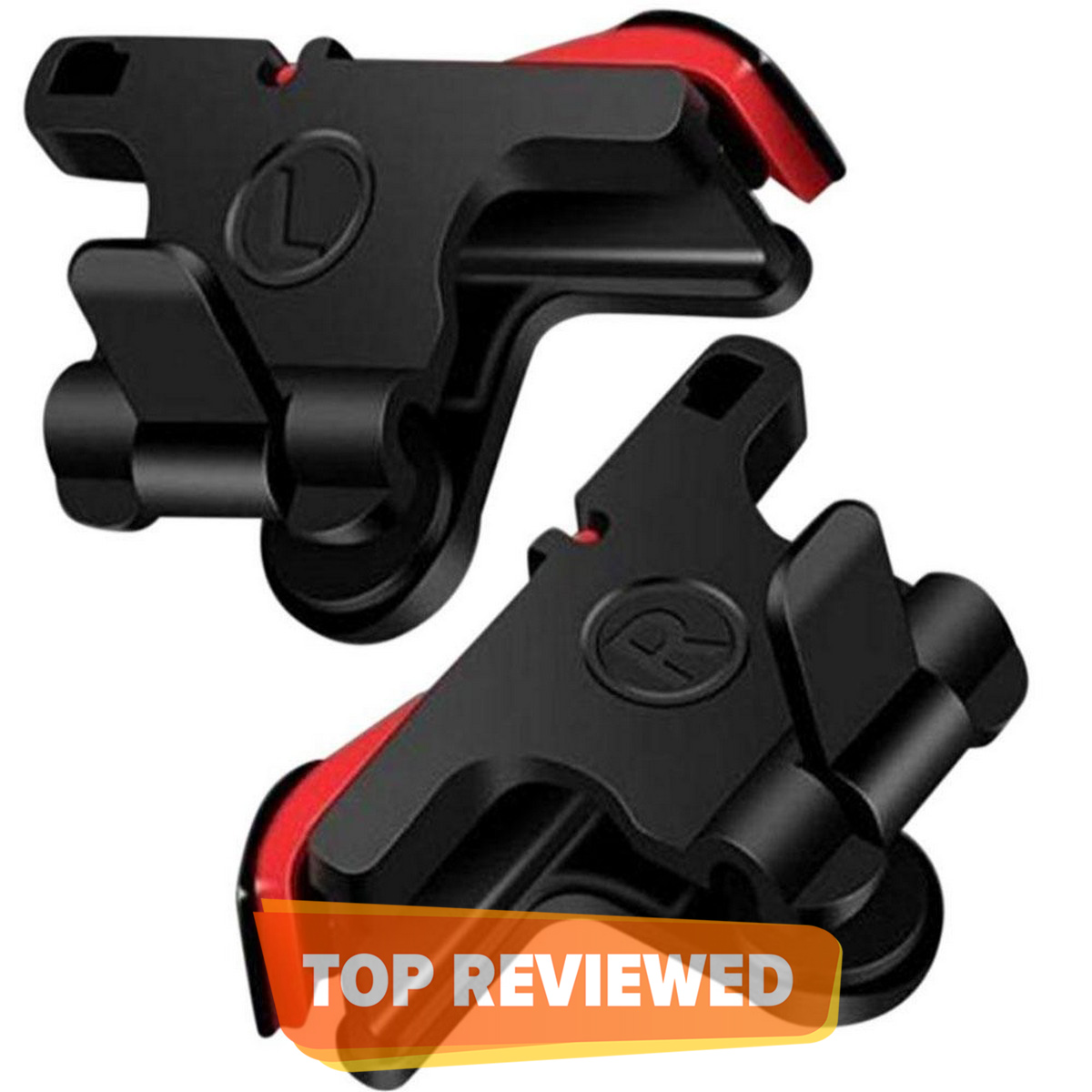 PUBG Trigger D9 PUBG Trigger Controller Fire Button or Anti-Sweat Breathable fController Fire Button and Anti-Sweat Breathable Glove L1R1 Pubg/Call of Duty/Garena Free Fire/Fortnite/Rules of Survival Version 5.0 With Latest Sensor Technology 1 Pair (2Pcs)