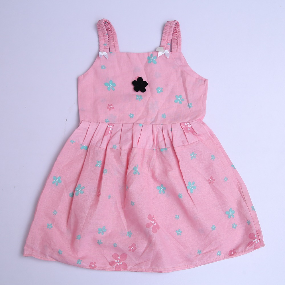 Multicolor Printed Baby Cotton Frocks Same Designs Frock For Girls Kid Floral Cotton Dresses Clothes farak