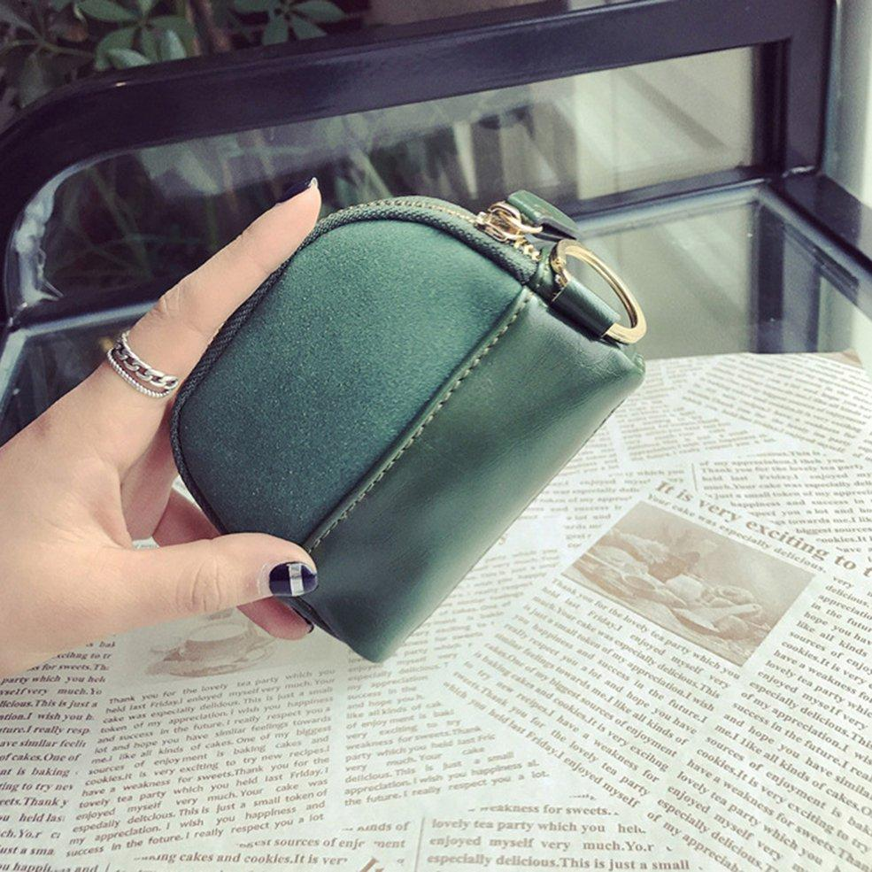 Small Size PU Leather Coin Storage Bag Money Box For USB Cable Coin Holder