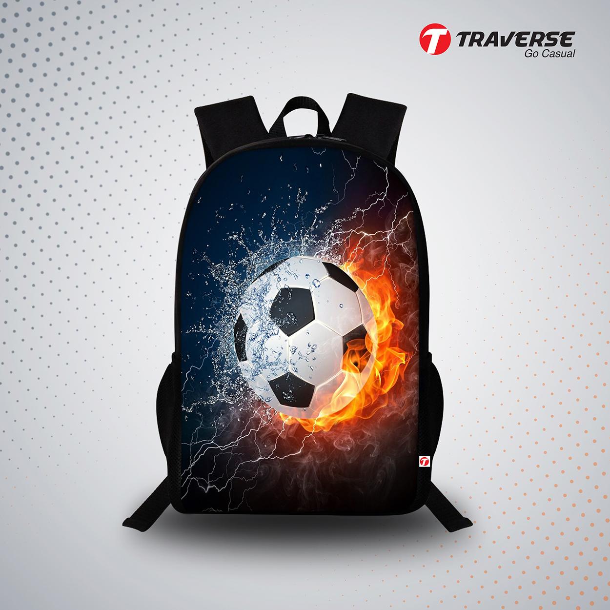 Football Backpack For Travel, School & College (boys & Girls)