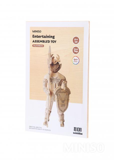engañar Huelga Descompostura  Miniso - Entertaining Assembled Toy - GP178(Wood Color): Buy Online at Best  Prices in Pakistan | Daraz.pk