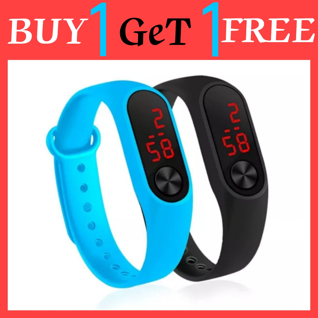 M3 watch, m3 watch for boys | Pack of 2 M3 Touch Led Bracelet Digital Watch Band | Luxury Sport Casual M3 Led Bracelet Digital Watch Band for Boys and Girls | Smart band watch | M3 Digital Watch Band Led | M3 watch band | wrist watch