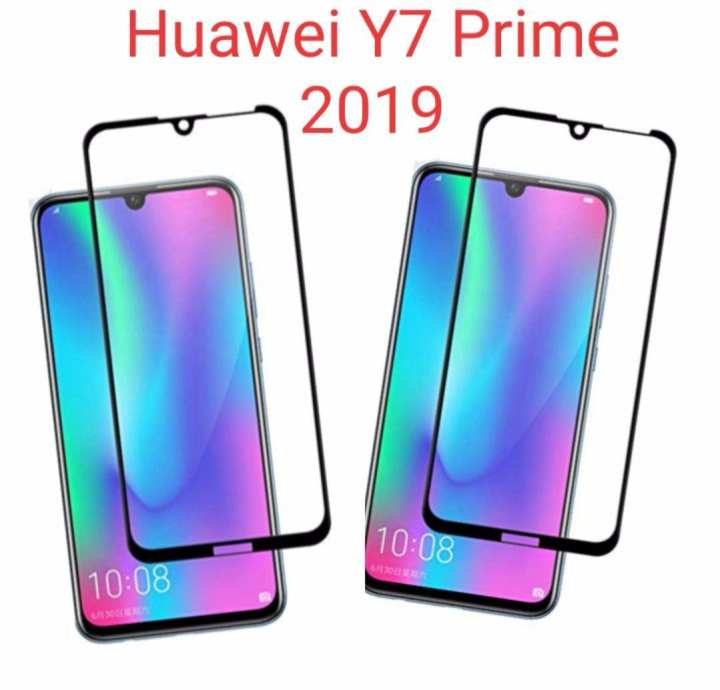 Huawei Y7 Prime 2019 9D Ful Glue Gilass