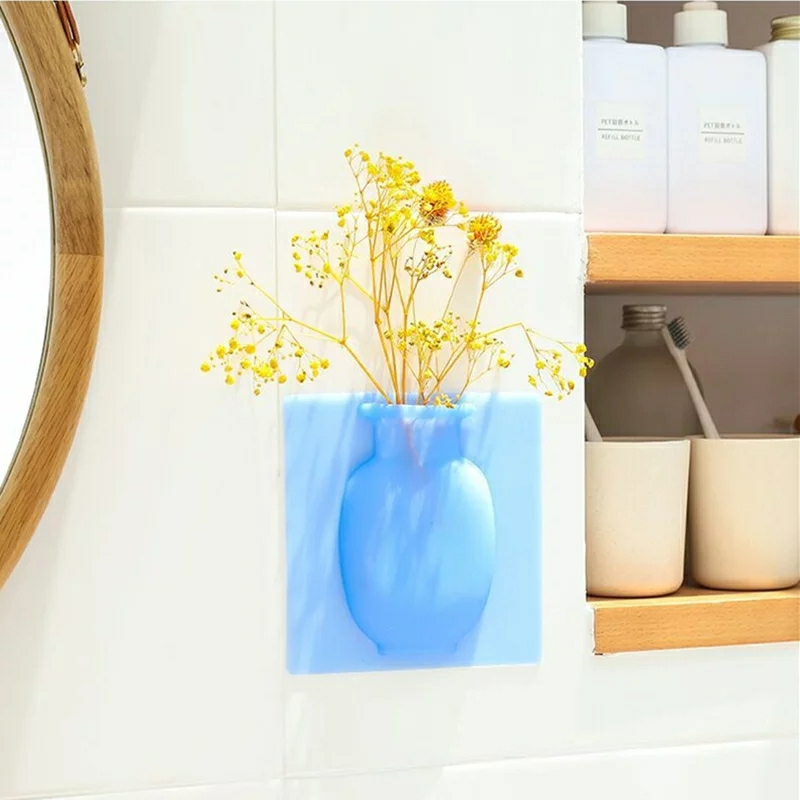 Magic Silicone Vase Flower Container Bottle