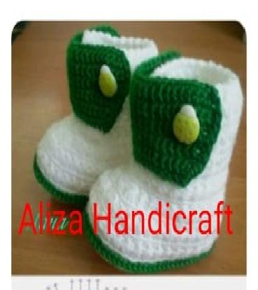 Imported Warm Woolen Baby Shoes/Booties For Baby Boy Winter Season (You Can Also order in different color and design)