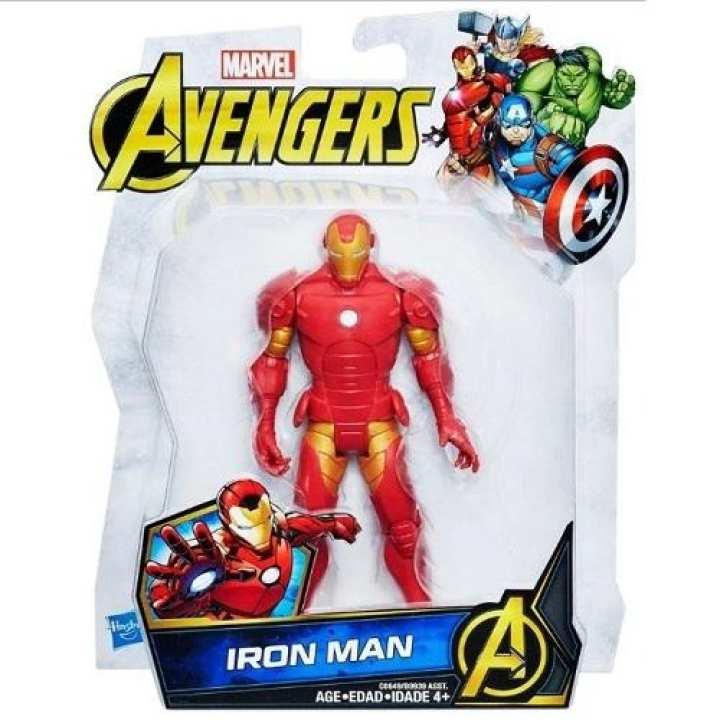 Marvel Avengers Hasbro Iron Man Action Figure – 6 inch (Original)