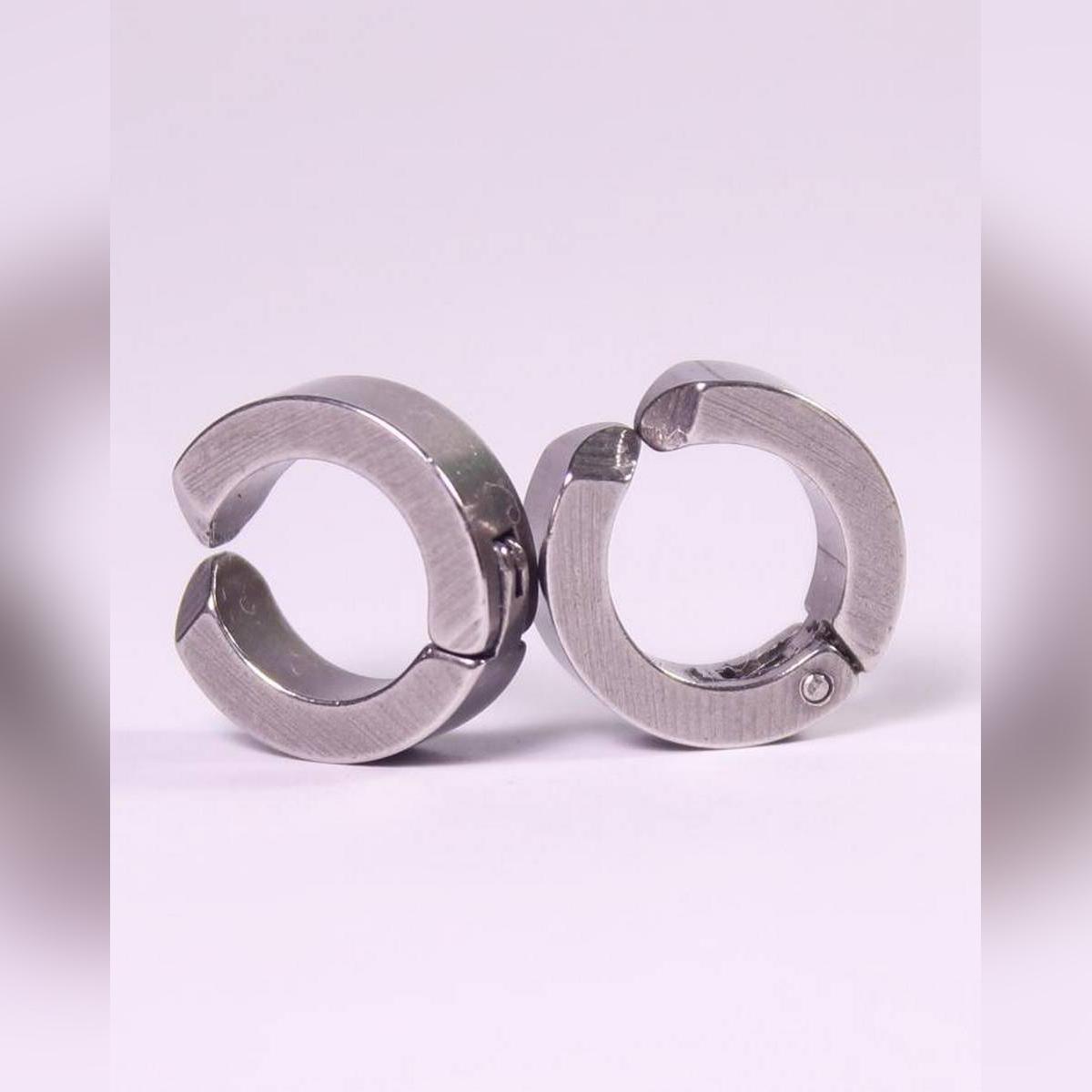 Punk Clip Earrings For Men