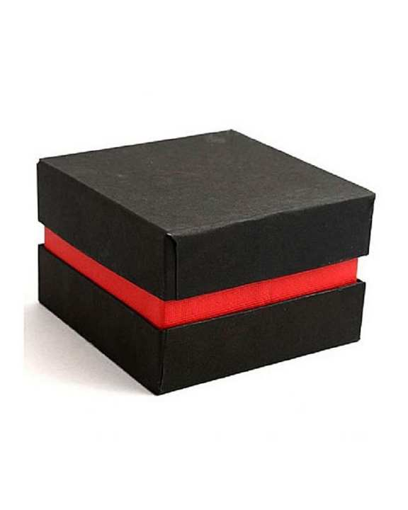 Pack of 2 - Red & Black Gift Watch Box - Normal Quality