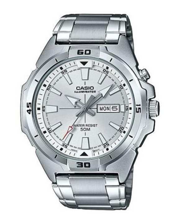 Casio - Mtp-E203D-7Avdf - Stainless Steel Watch For Men