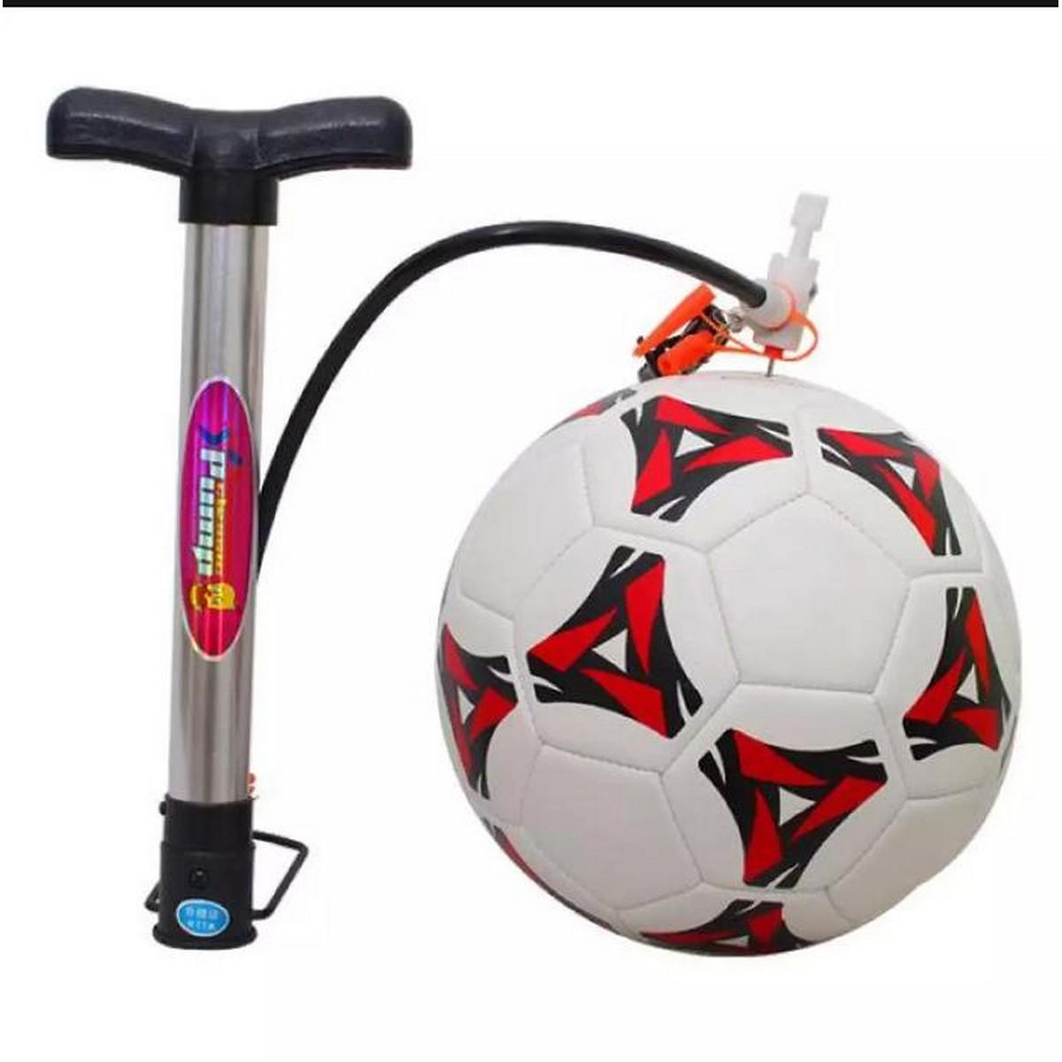 Foot Ball And Air Pump