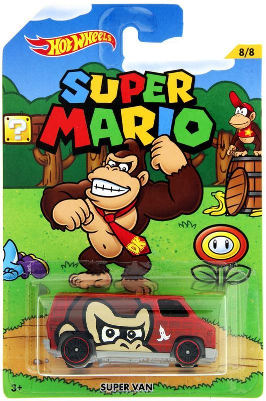 Khanaan - Hotwheels Super Van Super Mario Series - Diecast - Scale 1/64