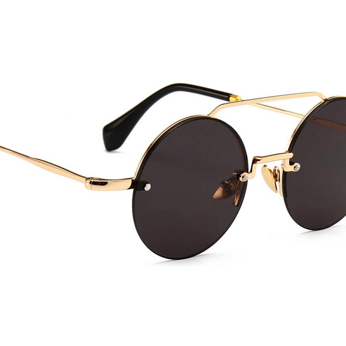Retro Square Sunglasses Men Tony Stark Sun Glasses