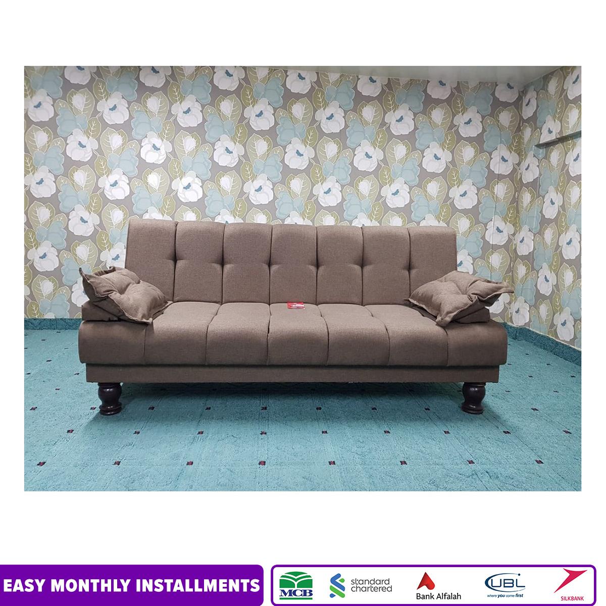 Galaxy Sofa Cum bed  Brown