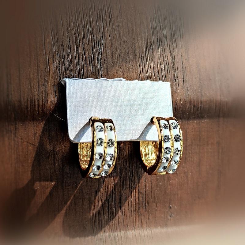 Earrings China Gold / Fine Quality / Gift for Girls / Bali / Hoop Earings / D1