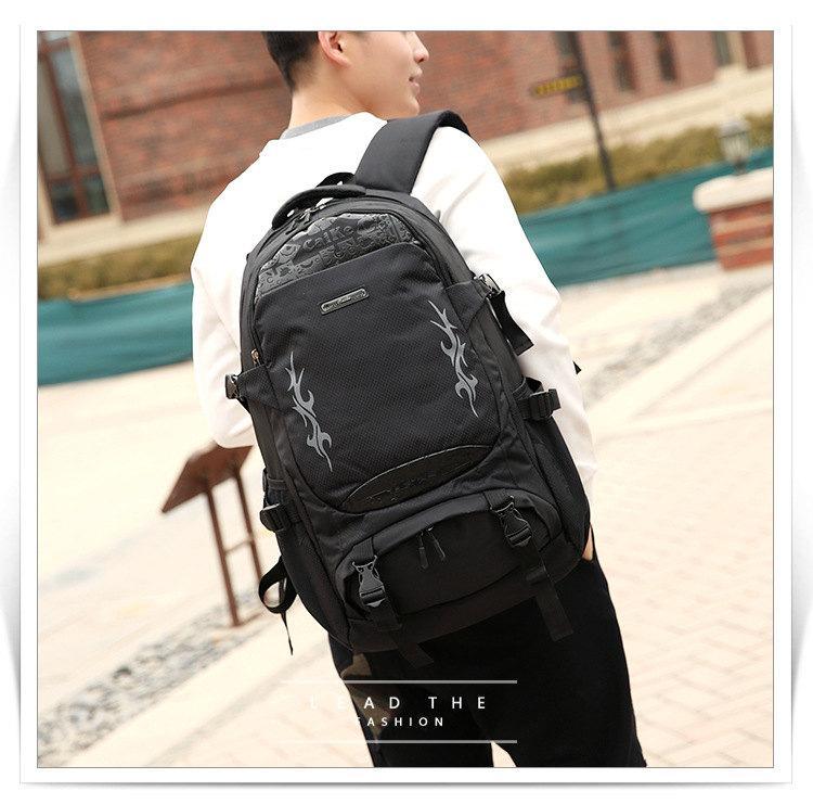 9ff532181dc New Waterproof Mountaineering Bag Korean Version Outdoor Walking Backpack  Large Capacity Ultra Light Travel Backpack