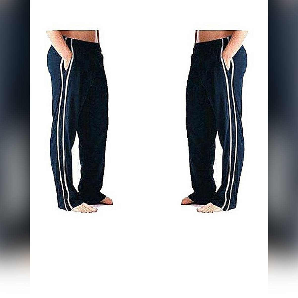 Pack Of 2 Blue Trousers For Men