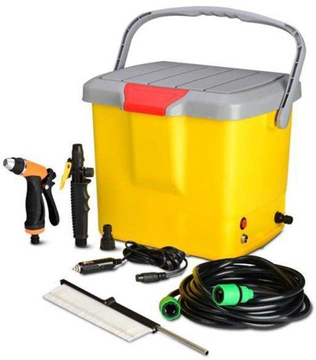 Car Wash Kit - Portable High Pressure Washer Power Pump Self-priming