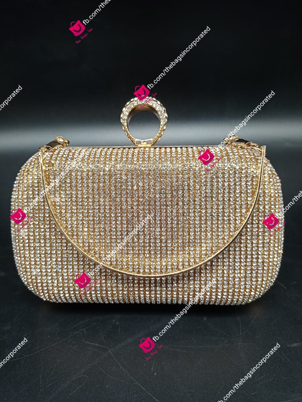Latest Crystal Evening Bags Ladies Wedding Wallet Bridal Party Clutch Purse